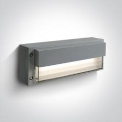 One Light kinkiet zewnętrzny/wewnętrzny Komnina 67176/G/W IP54