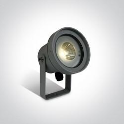 One Light lampa LED ogrodowa Malesina 67196C/AN/W IP65