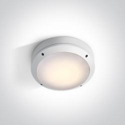 One Light plafon na zewnątrz Lagonisi 67204/W IP54