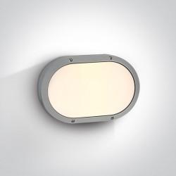 One Light plafon zewnętrzny Paximada 67204B/G IP54