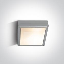 One Light plafon kwadrat zewnętrzny Kronia 67208/G IP54