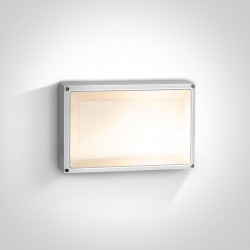 One Light plafon prostokąt Soros 67208B/W IP54