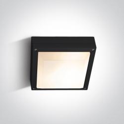 One Light plafon kwadrat zewnętrzny Kronia 2 67210/B IP54