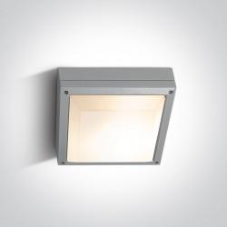 One Light plafon kwadrat zewnętrzny Kronia 2 67210/G IP54