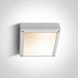 One Light plafon kwadrat zewnętrzny Kronia 2 67210/W IP54