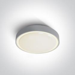 One Light plafon LED zewnętrzny Poka 2 67280AN/G/W IP65