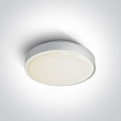 One Light plafon LED zewnętrzny Poka 2 67280AN/W/W IP65