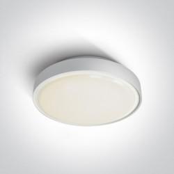 One Light plafon LED okrągły 36cm Poka 3 67280BN/W/W IP65