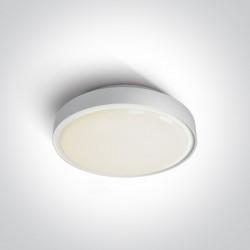 One Light plafon na zewnątrz biały 26cm Rafti 67280E/AN IP65