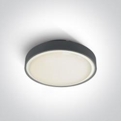 One Light plafon LED na zewnątrz antracytowy 30cm Rafti 2 67280EA/AN IP65