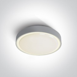 One Light plafon LED na zewnątrz szary 30cm Rafti 2 67280EA/AN IP65