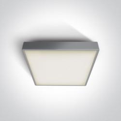 One Light plafon LED kwadratowy na zewnątrz 30x30 Pirnari 2 67282AN/G/W IP65