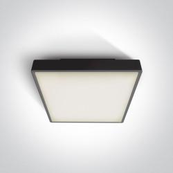 One Light plafon kwadratowy 30 cm na zewnątrz Warkiza 67282EA/B IP65