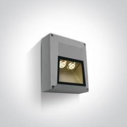 One Light kinkiet elewacyjny nowoczesny Kastella 67304/G/W IP54