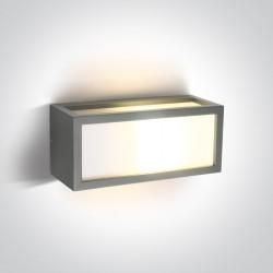 One Light kinkiet elewacyjny szary Tampouria 67328/G IP54