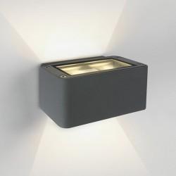 One Light kinkiet elewacyjny szary światło góra dół Dasos 67342/G/W IP54