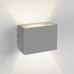 One Light kinkiet szary LED uniwersalny do domu ogrodu Praxi 67356/G/W IP54