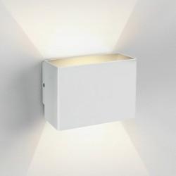 One Light kinkiet biały LED uniwersalny do domu ogrodu Praxi 67356/W/W IP54