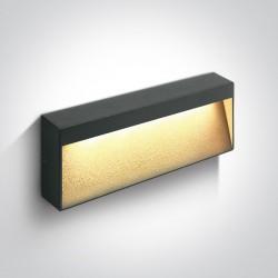 One Light kinkiet do montażu na elewacji domu Tsakali 3 67359B/AN/W IP54