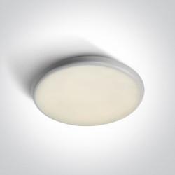 One Light plafon LED okrągły 35 cm Kavos 67370/W/C IP54