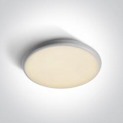 One Light plafon LED okrągły 35 cm Kavos 67370/W/W IP54