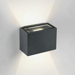 One Light stylowy kinkiet na elewację domu Solomos 67374/AN/W IP54