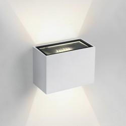One Light stylowy kinkiet na elewację domu Solomos 67374/W/W IP54