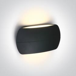 One Light elegancki kinkiet w kolorze antracytowym Tarsina 2 67378A/AN/W IP54