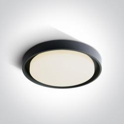 One Light plafon LED 34 cm dom wnętrze ogród sklep Moulki 67384/AN/W IP54