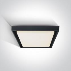 One Light plafon kwadratowy 34 do domu ogrodu Pasio 67384A/AN/W IP54