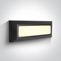 One Light kinkiet prostokątny LED dom ogród sklep Killini 67394/AN/W IP65