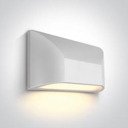 One Light kinkiet LED wyjątkowy design Ziria 67396/W/W IP65