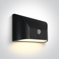 One Light kinkiet LED z czujnikiem wyjątkowy design Ziria 67396/W/W IP65