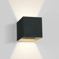 One Light kinkiet LED kostka światło góra dół Rozena 67398C/B/W IP54