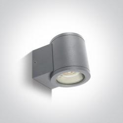 One Light kinkiet puszka na zewnątrz elewacja domu Cosmo 67400A/G IP54