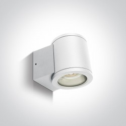 One Light kinkiet puszka na zewnątrz elewacja domu Cosmo 67400A/W IP54