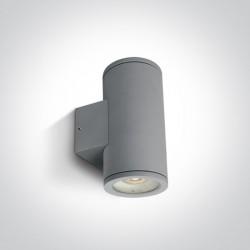 One Light kinkiet puszka na zewnątrz elewacja domu Cosmo 2 67400B/G IP54