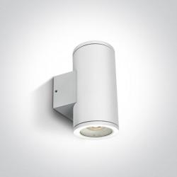 One Light kinkiet puszka na zewnątrz elewacja domu Cosmo 2 67400B/W IP54