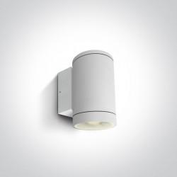 One Light kinkiet puszka na zewnątrz elewacja dom ogród Collio 67400D/W IP65