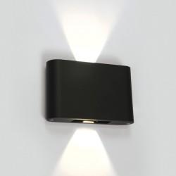 One Light kinkiet LED światło góra-dół antracyt Amigdalia 67412/AN/W IP54