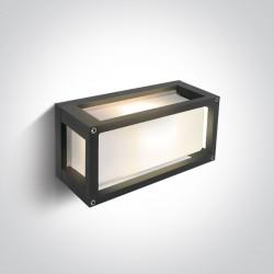 One Light kinkiet do mieszkania antracytowy Psofida 67420/AN IP54