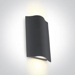 One Light kinkiet zewnętrzny pionowy wyjątkowy styl Efyra 2 67422A/AN/W IP54
