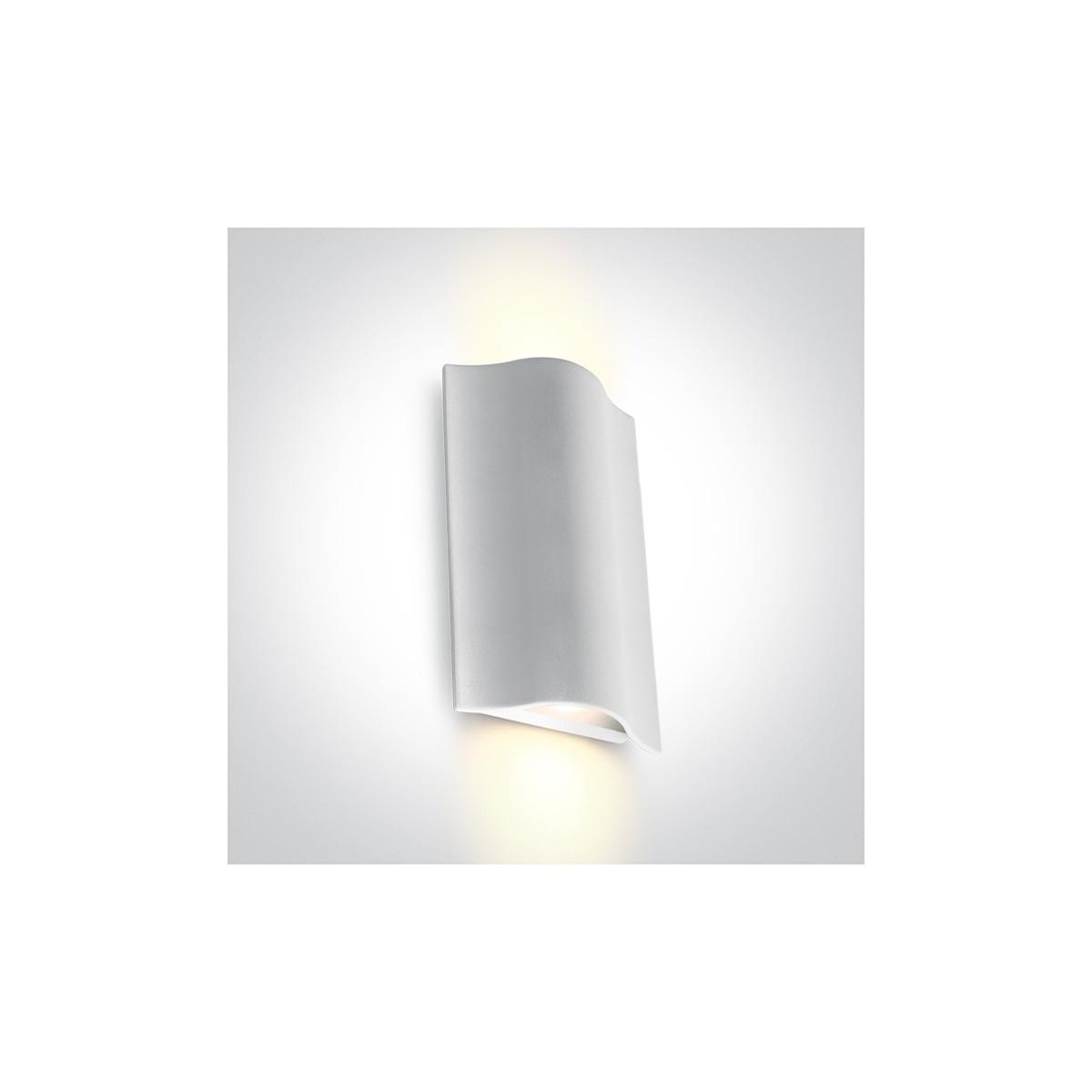 One Light kinkiet zewnętrzny pionowy wyjątkowy styl Efyra 2 67422A/W/W IP54