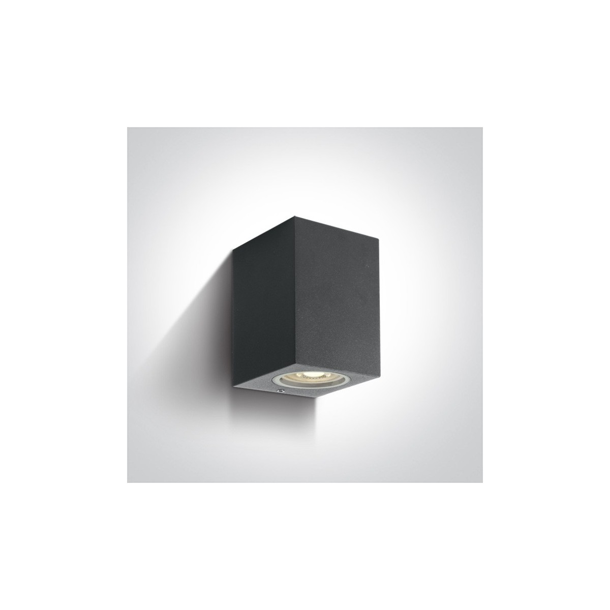 One Light kinkiet kostka antracytowy Arco 67426/AN IP65