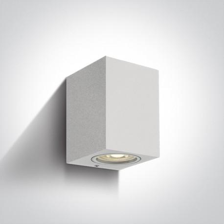 One Light kinkiet kostka biały Arco 67426/W IP65