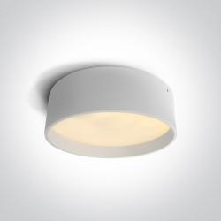 One Light plafon LED okrągły 45 cm idealny do wnętrz Sinora 2 67438A/W/W