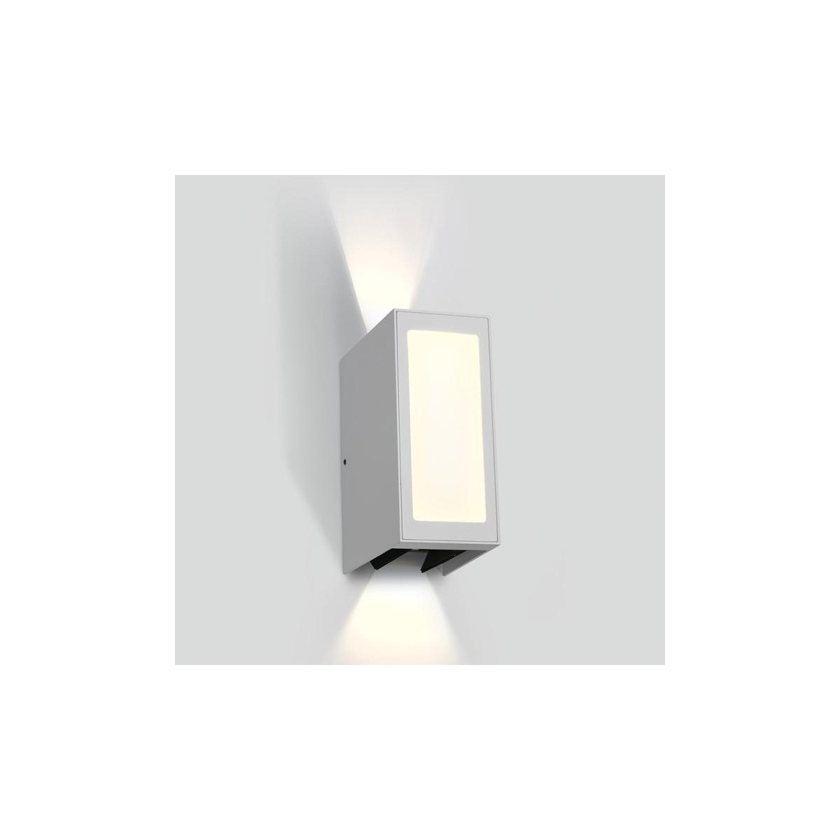 One Light kinkiet światło góra/dół z regulowaną wiązką Zavlani 67440/W/W IP54