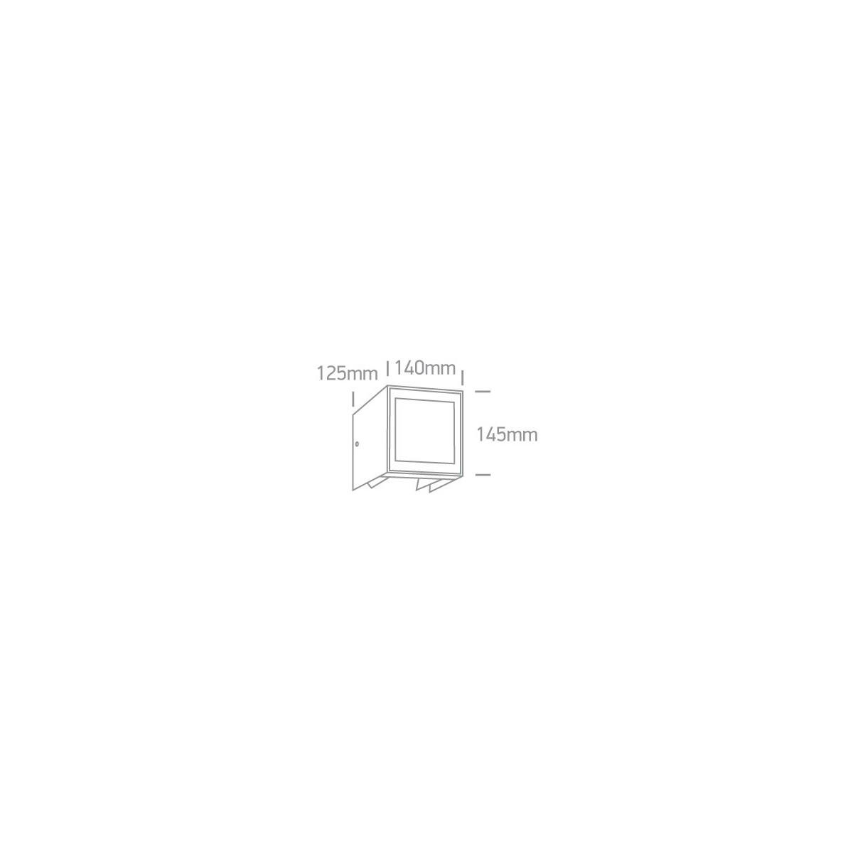 One Light kinkiet zewnętrzny z regulowaną wiązką dom elewacja Zavlani 2 IP54