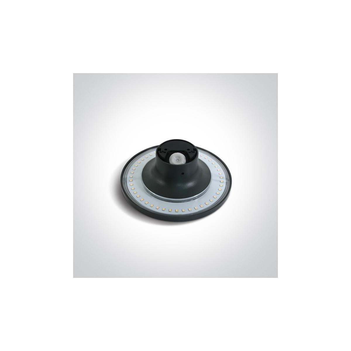 One Light kinkiet ścienny sufitowy podświetlany Fares 67450/AN/W IP54