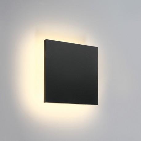 One Light plafon LED kwadratowy podświetlający ścianę Prevedos 67450A/AN/W IP54